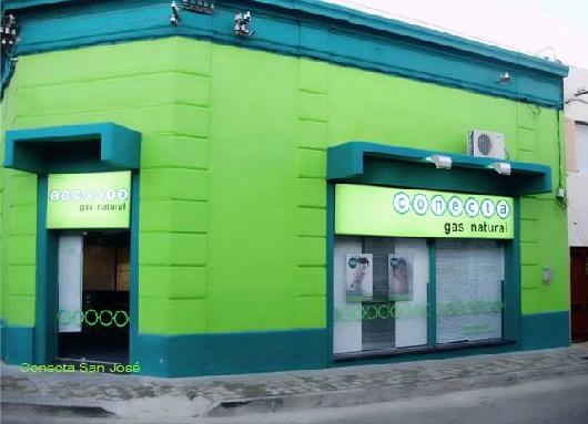 Conecta gas natural oficinas for Oficinas de gas natural